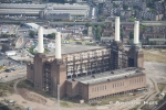 Aerial Photography of Battersea Power Station, London