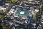Aerial Photography of Norman Foster's British Museam, London
