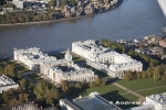 Aerial Photography of Greenwich Royal Naval College