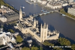 Aerial Photography of Westminster and River Thames