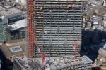 Bishopsgate and Broadgate Tower construction, City of London England