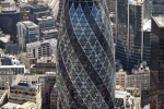 The Gherkin Swiss Re building St Mary Axe London