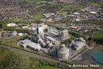 Aerial Photography Cement Works Factory In Rugby Town England Andrew Holt Aerial Photography Photograph