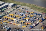 Aerial Photography Containers In Thames Europort Dartford London England Andrew Holt Aerial Photography Photograph