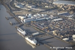 Aerial Photography Purfleet Deep Wharf And Containers By River Thames London England Andrew Holt Aerial Photography Photograph