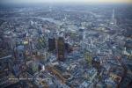 city of london river thames shard dusk twilight night england