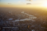 sunset river thames london eye houses of parliament westminster south bank london