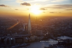 sunset the shard river thames london dusksunset shard thames city of london england