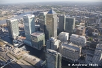 aerial-photography-canary-wharf-skyscrapers-on-isle-of-dogs-by-river-thames-london