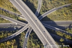 Aerial Photography M25 Motorway Junction 7 And M23 Jn 8 Roads In Trees Redhill London